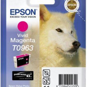 C13T09634010 - EPSON Inkt Cartridge T0963 Magenta 11,4ml 1st