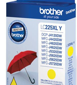 LC-225XLY - Brother Inkt Cartridge LC-225XLY Yellow 1.200vel