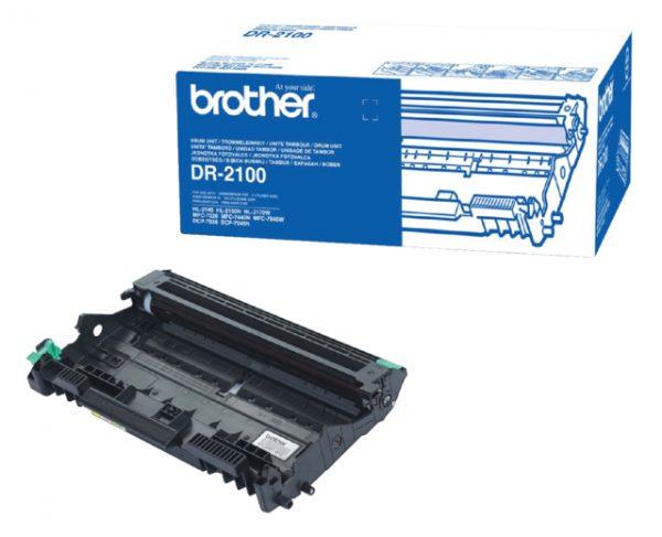 DR-2100 - Brother Drum Black 12.000vel 1st