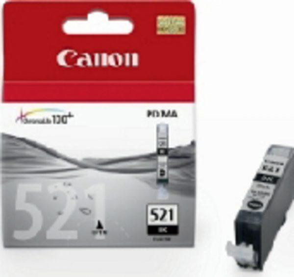 2933B001 - CANON Inkt Cartridge 521 Black 9ml