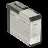 C13T580700 - EPSON Inkt Cartridge T5807 Light Black 80ml 1st