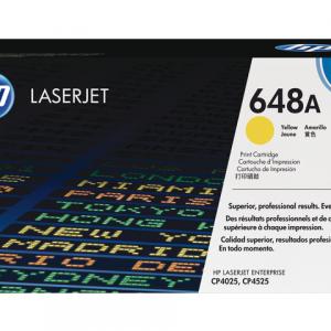 CE262A - HP Toner Cartridge 648A Yellow 11.000vel