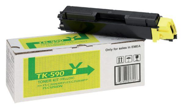 1T02KVANL0 - Kyocera Toner Cartridge Yellow 5.000vel 1st