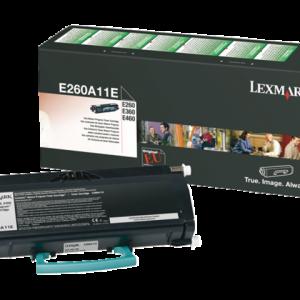 E260A11E - LEXMARK Toner Cartridge Black 3.500vel 1st
