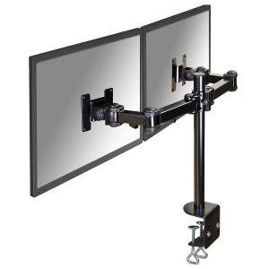 FPMA-D960D - NEWSTAR Monitorarm 25-65cm 2 Schermen Zwart