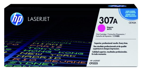 CE743A - HP Toner Cartridge 307A Magenta 7.300vel