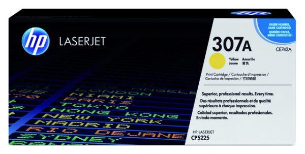 CE742A - HP Toner Cartridge 307A Yellow 7.300vel