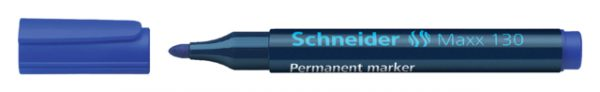 113003 - SCHNEIDER Viltstift Permanent 130 1-3mm Blauw 1st