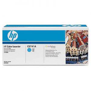 CE741A - HP Toner Cartridge 307A Cyaan 7.300vel