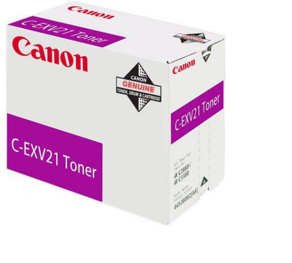 0454B002 - CANON Toner Cartridge C-EXV21 Magenta 14.000vel