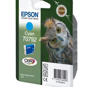 C13T07924010 - EPSON Inkt Cartridge T0792 Cyaan 11ml 1st