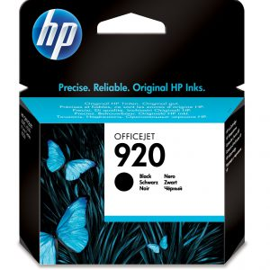 CD971AE - HP Inkt Cartridge 920 Black 10ml 1st
