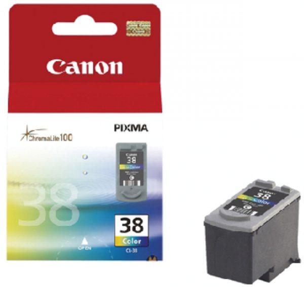 2146B001 - CANON INK Inkt Cartridge CL-38 Cyaan & Magenta & Yellow 9ml