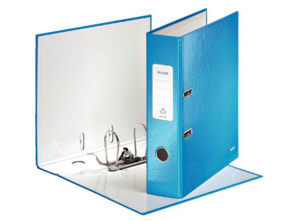 10050036 - LEITZ/ESSELTE Ordner 2-Rings WOW 1005 80mm Blauw A4