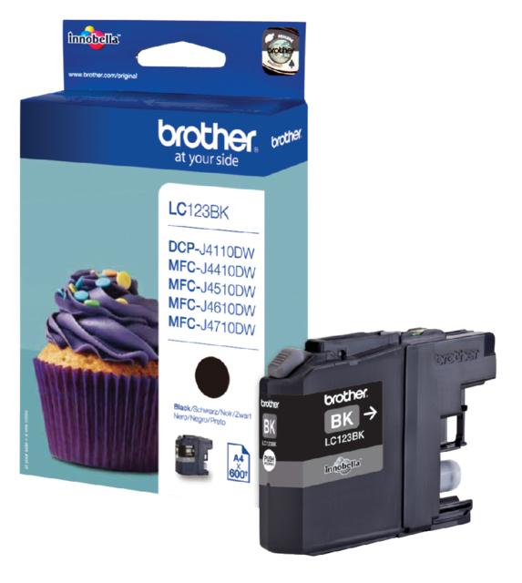 LC-123BK - Brother Inkt Cartridge Black 13,4ml