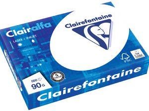 2618 - Clairfontaine Kopieerpapier A4 160g/m² Wit CIE170 250vel