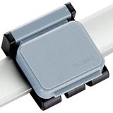6263084 - HEBEL Papierklem Clip Boy 36x40mm Grijs 1st