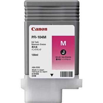 3631B001 - CANON Inkt Cartridge PFI-104M Magenta 130ml
