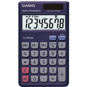 SL-300 VER - CASIO Calculator SL300VER 8-Cijfers