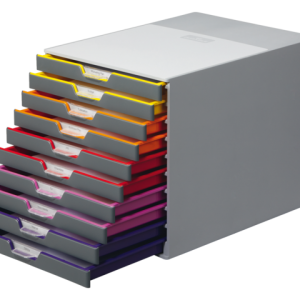 761027 - DURABLE Ladenblok Varicolor Tray Diverse Kleuren 10-Laden