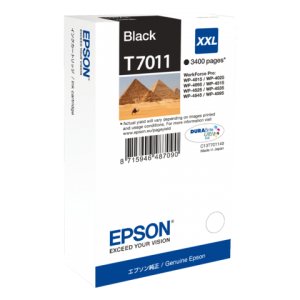 C13T70114010 - EPSON Inkt Cartridge T7011 Black 63,2ml 1st