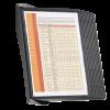 585401 - DURABLE Wandstandaard Module met Zichtpanelen Sherpa Zwart A4