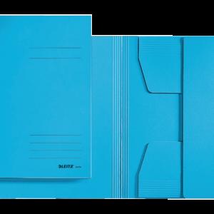 39230035 - LEITZ Dossiermap 3-Klep 3923 250vel Blauw A3