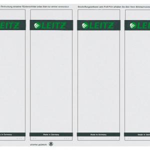 16852085 - LEITZ/ESSELTE Rugetiket Printbaar PC1080 Grijs 100st