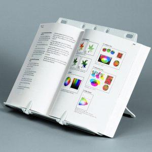 21140 - FELLOWES Boekensteun Zilver