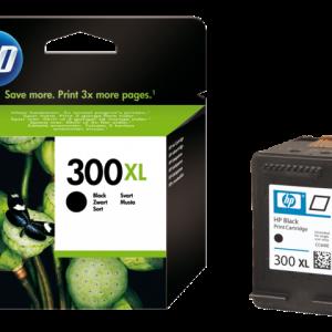 CC641EE - HP 300XL Black 12ml