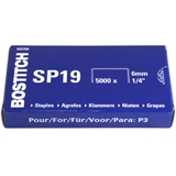 SP19 - BOSTITCH Nietjes Staal no: SP19 6mm 5.000st