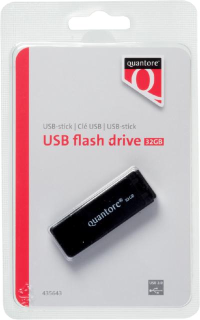 435643 - Quantore USB-Stick Flash Drive 32GB New