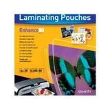 53962 - FELLOWES Lamineerhoes 80mcr Premium A4 Glashelder 25vel