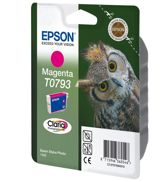 C13T07934010 - EPSON T0793 Magenta 11ml