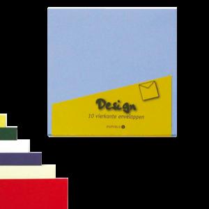 894410 - PAPERMATE Envelop Design 140x140mm 80gr 10st Ivoor