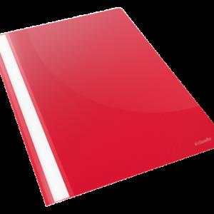 28316 - ESSELTE Snelhechtmap Vivida 160vel Rood 1st A4