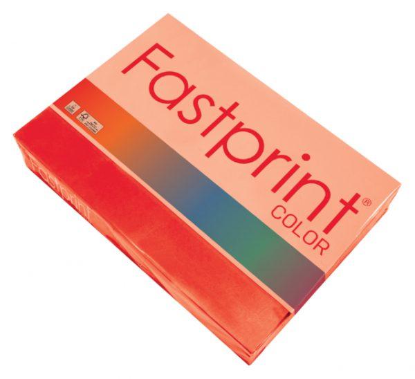 88164351 - FASTPRINT Kopieerpapier A4 80g/m² Felrood 500vel