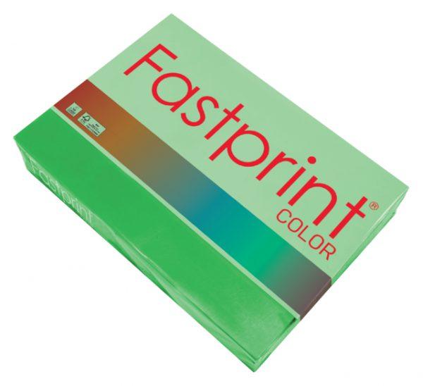 88164910 - FASTPRINT Kopieerpapier A4 80g/m² Grasgroen 500vel