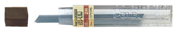 001845 / 300 0,3 - PENTEL Potloodstift 300 0.3mm HI Polymeer Zwart 12st