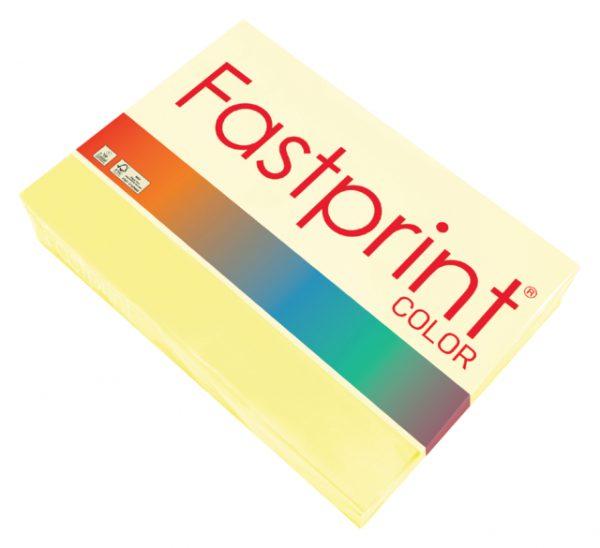 120418 - FASTPRINT Kopieerpapier A4 80g/m² Geel 500vel