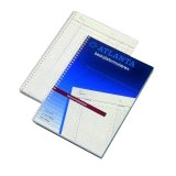 A5414013 - ATLANTA Notablok Tweevoudig A4 50vel