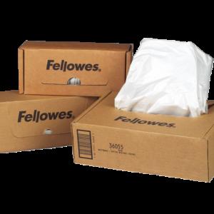 36056 - FELLOWES Opvangzakken voor Papiervernietiger C-320/420 50st