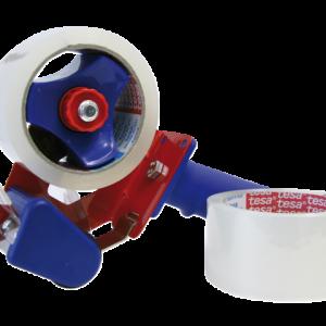 57195-00000-01 - TESA Verpakkingstape met Promo Dispenser 50mmx66m Transparant 1st