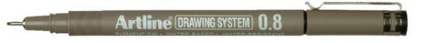 0657203 - ARTLINE Zwart 0.8mm