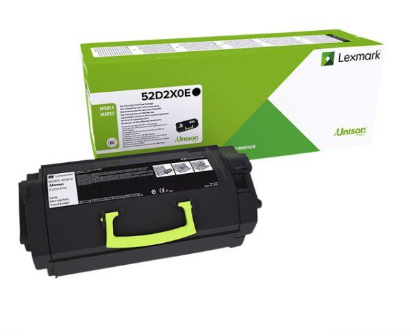 52D2X0E - LEXMARK Toner Cartridge Black 45.000vel 1st