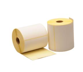 LL100X150000701 - LI-ME Verzendlabel / Pakketlabel PTE (Papier Thermische Eco) Mat Permanent 100mm 150mm Wit 300st 25mm Kern 1Baans 2 Buiten 0° op Rol Perforatie