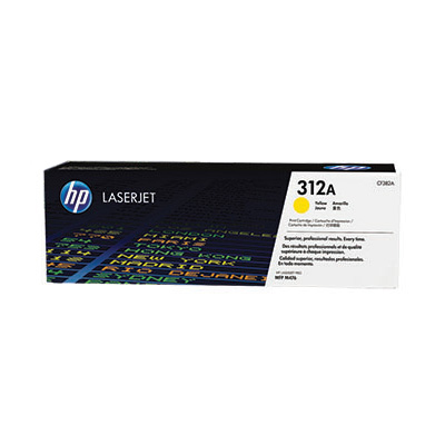 CF382A - HP Toner Cartridge 312A Yellow 2.700vel 1st