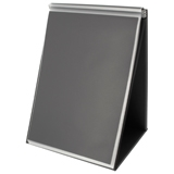 93190 - RILLSTAB Tafel Flipover A4 Staand 20 Tassen Zwart 1st