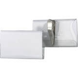 811019 - DURABLE Badge Clip Transparant 40x75mm