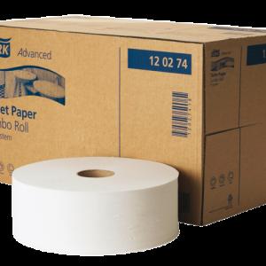 60140 - Tork Toiletpapier Advanced T1 Papier 6-Rollen Grijs 1st